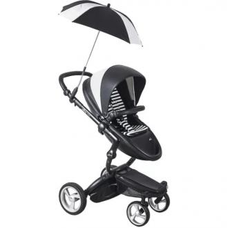 Зонт Mima Parasol White Black + держатель