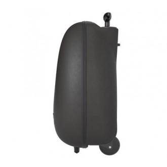 Детский дорожный чемодан на колесах Mima OVI TROLLEY Black
