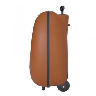 Детский дорожный чемодан на колесах Mima OVI Camel