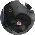 Фото ремней безопасности автокресла Mima Xari Cool Gray 3 в 1