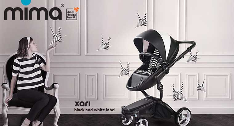 фото Mima Xari Black and White 2 в 1