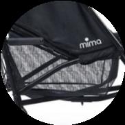 Фото корзины для покупок Mima BO Black