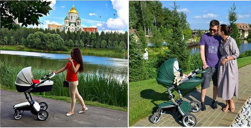 фото колясок mima xari в москве