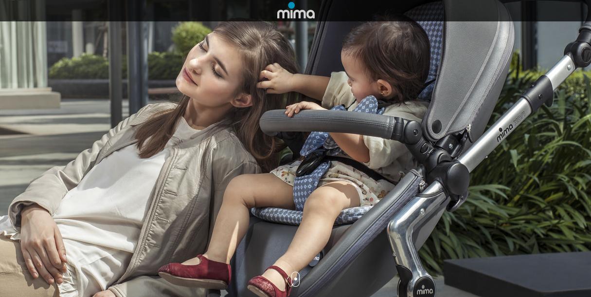фото прогулочных колясок mima