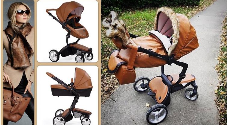 фото детской коляски mima xari
